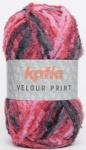 Katia Velour Print Farbe 74