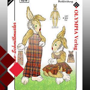 Schnittmuster Hasen gr0215