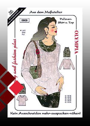 Schnittmuster Shirt / Top gr0908