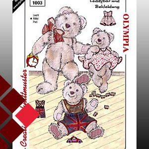 Olympia Schnittmuster Teddybären